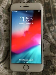 Apple iPhone 6- 64GB - Silver (Unlocked) A1549 (GSM) (CA) Excellent Condition