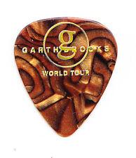 Garth Brooks Gold Pearl Guitar Pick - 2015 Tour