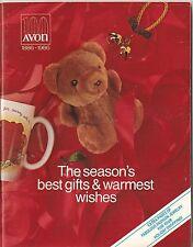 1986 Vintage Antique AVON Sales Catalog Book Brochure Campaign 24