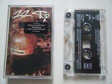 ZZ TOP RHYTHMEEN CASSETTE TAPE RCA BMG 1996