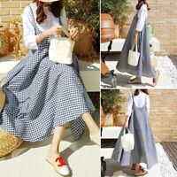 ZANZEA Women Summer Strappy Long Maxi Sundress Overalls Slip Dress CaDress