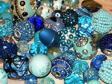 NEW 20/pc Jesse James BLUES  lot loose Beads FREE shipping RANDOM PICK