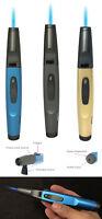 "Zico MT36 6 1/4"" Pen Gun Torch Lighter Metal Butane Refillable"