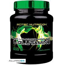 Glutamin Scitec Nutrition L-Glutamine 600g Aminosäuren L-Glutamin BCAA 41,42€/Kg