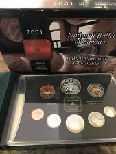 2001 National Ballet of Canada Proof Set With Original Box
