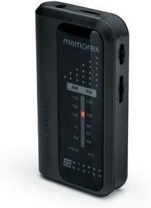 MEMOREX PORTABLE AM/FM RADIO POCKET PLAYER ONLY!! WITH BELTCLIP (MR4240)