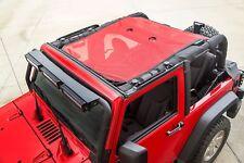 Rugged Ridge Eclipse Mesh Sun Shade Red 07-17 Jeep Wrangler Jk 2-Door X 13579.26