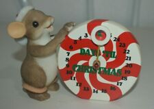 Charming Tails It's Christmas Time Countdown Fitz&Floyd 97/143 Signed Dean Griff