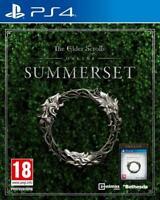 The Elder Scrolls Online Summerset - Jeu PS4 - Neuf sous blister - FR