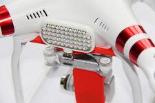 DJI Phantom 3 - Metz LED-72 Smart Supporto con Viti TORX L'ORIGINALE ROSSO