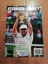 SERVE & VOLLEY MAGAZINE AUGUST 1992 WIMBLEDON '92 & MORE