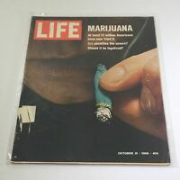 VTG Life Magazine: October 31 1969 - Marijuana: At least 12-M Americans Tried