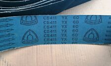Klingspor Cs411 Yx 4x60 60 Grit Zirconia Alumina Hd Sanding Belts 6 Pcs
