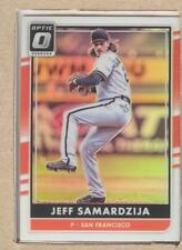 Jeff Samardzija 143 2016 Donruss Optic Holo