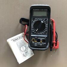 Elenco M-1700 Digital Multimeter With Rubber Protective Case