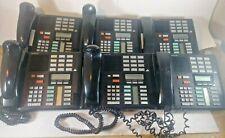 Lot of 6 Nortel Norstar Meridian M7310 Black Office Telephones