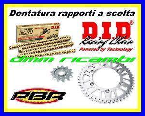 Kit Trasmissione Racing 520 MV AGUSTA F3 675 16 corona catena DID ERV3 PBR 2016