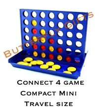 Connect 4 In A Row Four In A Line Board Game Family Fun Take On Trips Mini UK