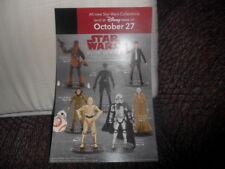 BRAND NEW Star Wars Last Jedi Disney Store Elite Series Pamphlet RARE HTF