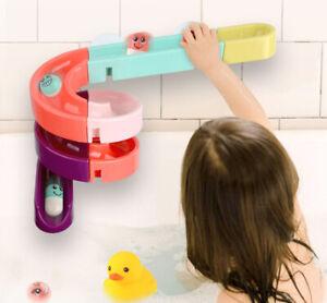Kugelbahn für Badewanne Kleinkinder Wasserspiel 24teilig