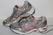 ASICS GT 2150 Running Shoes, #T054N, Silver/Pink, Womens US Size 9.5