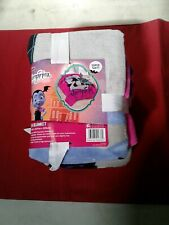 Disney Jr VAMPIRINA Plush BLANKET - CASTLE Bats - Pink TWIN Size Bed 🌟NEW🌟#22