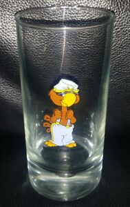 RARE VINTAGE COLLECTABLE KFC KENTUCKY FRIED CHICKEN 1970s COLLECTOR GLASS