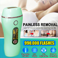 990,000 Laser Painless Permanent IPL Hair Removal Epilator Face  Body Portable