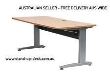 Standard Height Adjustable Electric Desk with 1800mm Desktop