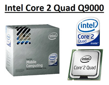 Intel Core 2 Quad Q9000 SLGEJ 2.0GHz, 6MB Cache, 4 Core, Socket PGA478, 45W CPU
