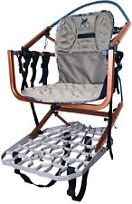 Lone Wolf Treestands Wide Sit and Climb Ii Combo Molded Seat, Quiet, Mobile H.