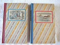 2 Vol. Set 1946 Alice's Adventures in Wonderland and Through the Looking Glass