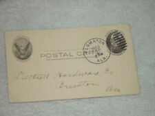 Dec 1 1904 Post Card With Order Wire Farm Fence Mail To Luthell Hardware Co. Ala