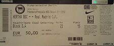 TICKET Friendly 2011/12 Hertha BSC Berlin - Real Madrid