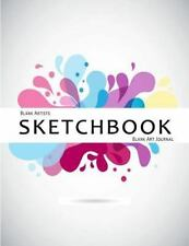 Blank Artists Sketchbook : Blank Art Journal : 150 Pages A4 8. 5 X 11 Vector ...