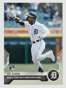 Akil Baddoo Topps Rookie Card 💥LOW Print run / 4182💥 Card #25 DETROIT TIGERS🐅