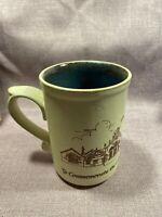 Laugharne Pottery Diamond Hall School Handmade Mug - Great Condition