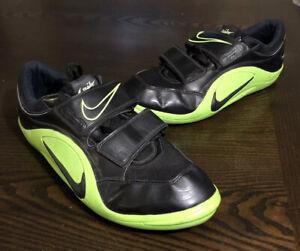 Nike Zoom Rotational IV Shot Put Discus Track Field Shoes 317587-003 Mens Sz 12