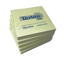 10 x 100 3M Haftnotizen notes Tartan Klebezettel 76 x 76 mm gelb