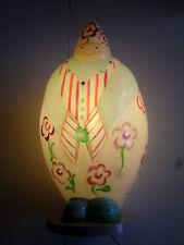 lampe à poser jovial bùdhi, poète, l'oiseaux bateau (taille: 40X20cm)