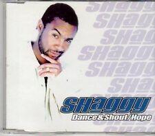 (CY260) Shaggy, Dance & Shout / Hope - 2001 DJ CD