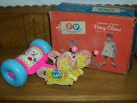 Vintage 1962 Fisher Price Pull Toy - No. 137 - Pony Chime - Excellent w/ Box