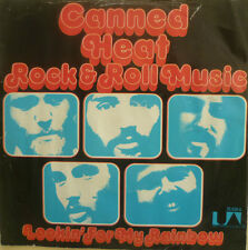 """7"""" 1973 RARE VG++ ! CANNED HEAT : Rock & Roll Music"""