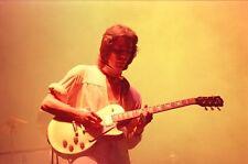 "12""*8"" concert photo of Steve Hackett London 1976"