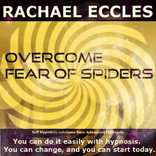 Overcome Fear of Spiders Arachnophobia Hypnotherapy Phobia Treatment Hypnosis CD