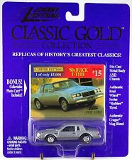 Johnny Lightning Classic Gold Collection #15 '80s Buick T-Type MOC