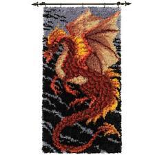 Herrschners® Storm Dragon Latch Hook Kit
