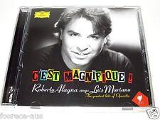 cd-album, Roberto Alagna Sings Luis Mariano, C'est Magnifique !