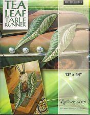 LEAF SERIES Tea Leaf Table Runner PATTERN, Paper Piecing by Judy Niemeyer