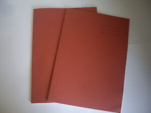 SCHOOL EXERCISE ORANGE BOOKS A4 SIZE LINED/PLAIN ALTERNATE 64 PAGES PACK OF 2